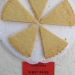 Some shortbread which has won a prize in a show